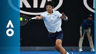 Hyeon Chung has Novak Djokovic on the ropes | Australian Open 2018