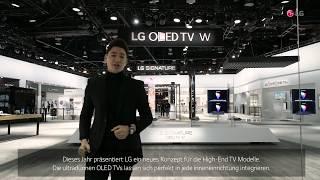 LG SIGNATURE OLED TV W: Einfachheit in Perfektion