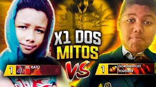 EL RATO VS GORDINHO DO X1! O MAIS ESPERADO DE TODOS OS TEMPOS NO FREE FIRE.
