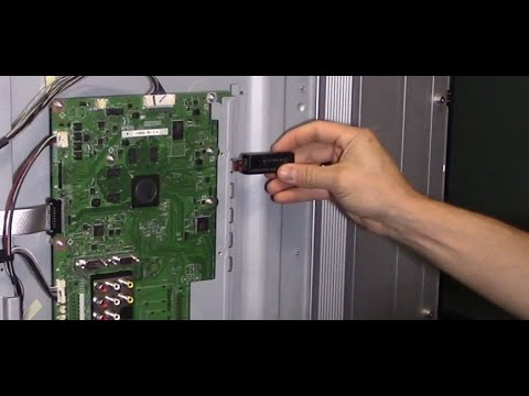 How To Fix TV Main Board With Usb Firmware Update Software Guide