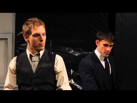 Scene from The Dumb Waiter by Harold Pinter