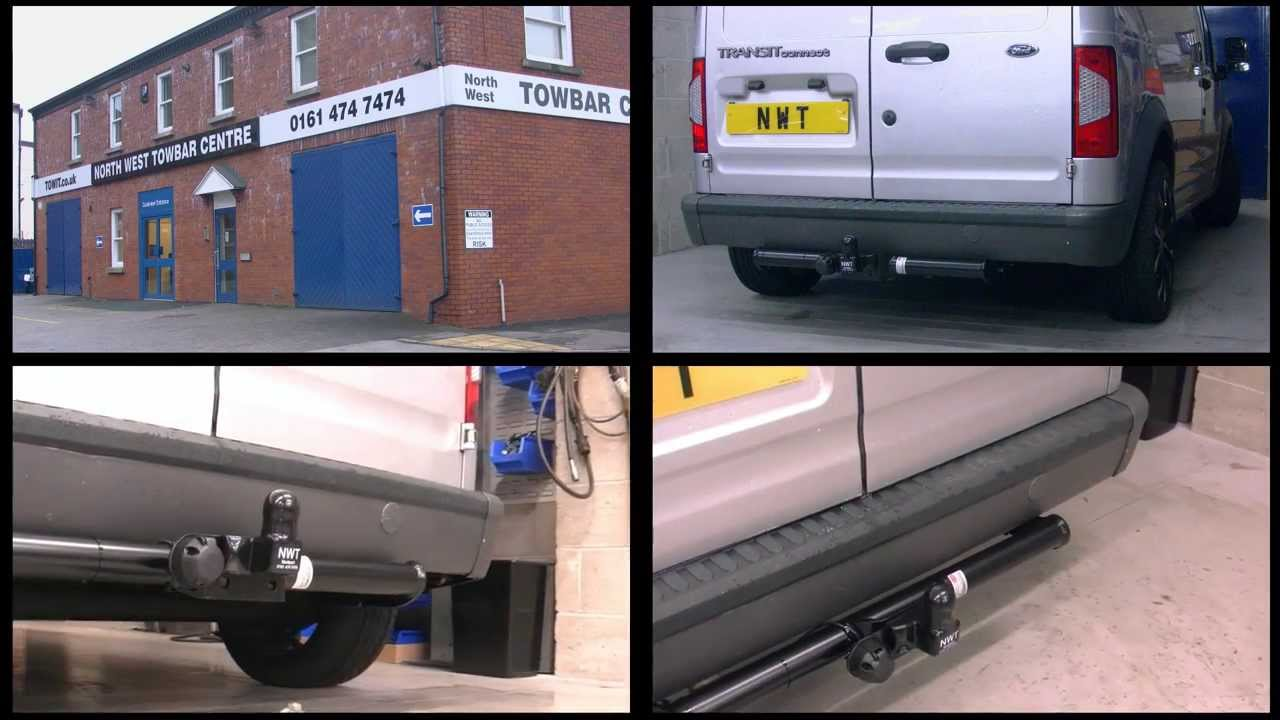 Tow Bar Wiring Diagram Viper Alarm 791xv Ford Transit Connect Witter Towbar - Youtube