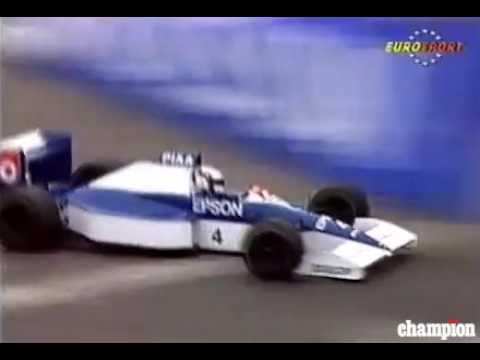 Jean Alesi Phoenix F1 USA 1990  Grand Prix Qualifing