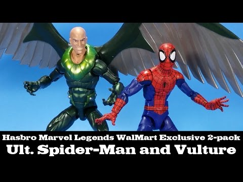 Marvel Legends Spider-Man and Vulture 2-pack Ultimate WalMart Exclusive Hasbro