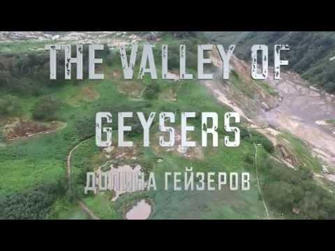 The Valley of Geysers, Kamchatka (4K DJI Phantom 3 Pro)
