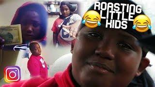 ROASTING LITTLE KID EMBARRASSING INSTAGRAM PICS😂 (BIG TAY TRIPPIN')