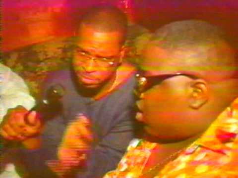Rare Notorious BIG interview talking about conflict with Tupac Shakur in 1996