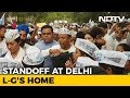 AAP Protest Outside Lt Governor's House Enters 3rd Day