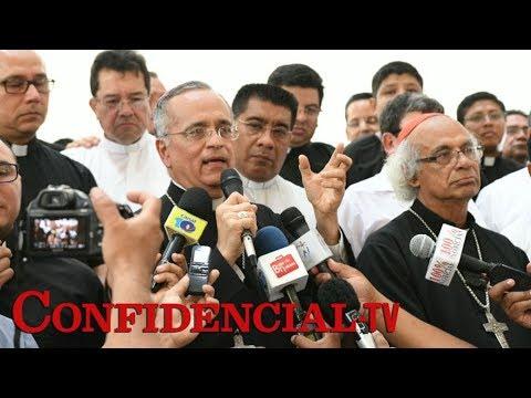 """Monseñor Báez: """"Su causa es justa y la Iglesia los apoya"""""""