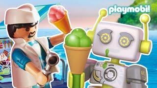 PLAYMOBIL | Come si prepara il gelato?
