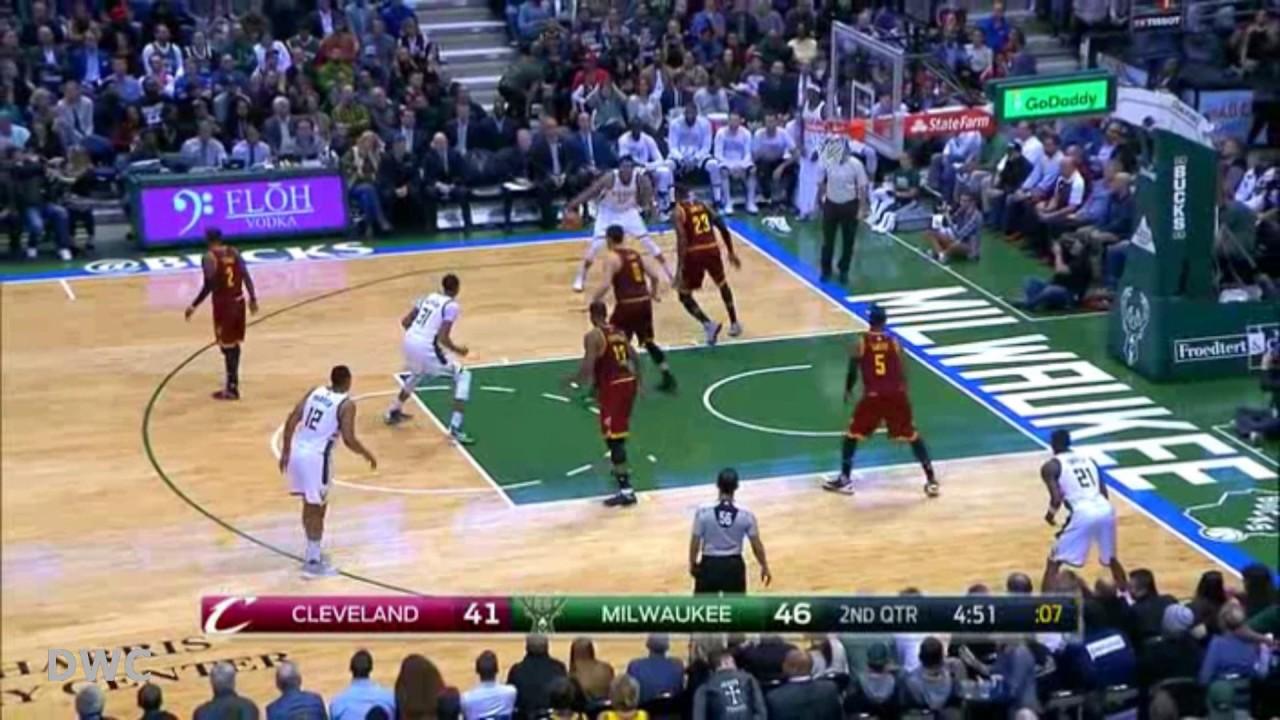Lebron James Defense On Giannis Antetokounmpo November 29 2016 Youtube
