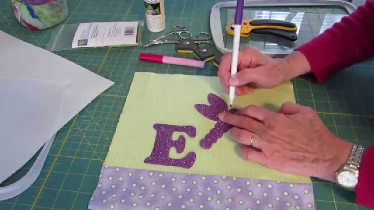Easy And Accurate Placement Of Machine Embroidery Applique Shapes