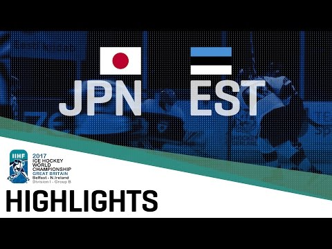 Japan - Estonia | Highlights | 2017 IIHF Ice Hockey World Championship Division I Group B