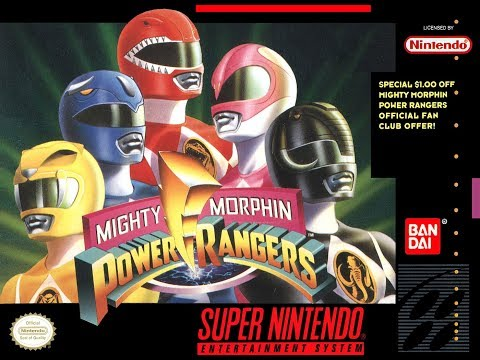 Which Mighty Morphin Power Rangers SNES Games Are Worth Playing Today? - SNESdrunk