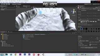 Урок по Unity3D №1 создание ландшафта и озера