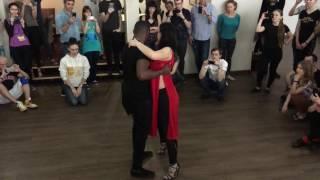 Heneco Si & Daria Savran - Improvisation UrbanKiz @KizzUp2017 Lviv, Ukraine