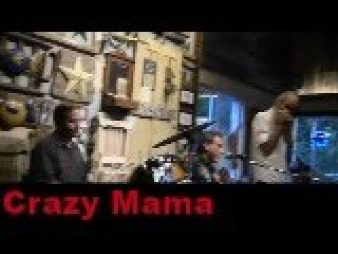 Crazy Mama by Blues Mechanics at Aptos St BBQ, Santa Cruz, Ca.