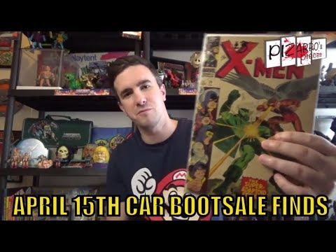 Pizarro's Pieces Toy Hunting Car Boot Sale Haul 15th April 2018