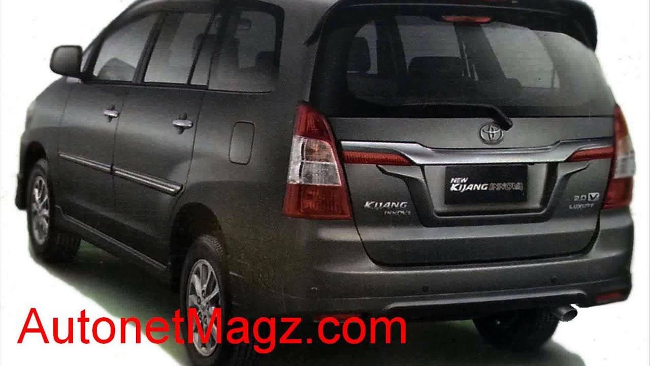 All New Innova Venturer Interior Grand Avanza 1.3 Veloz A/t Toyota Kijang 2014 Youtube