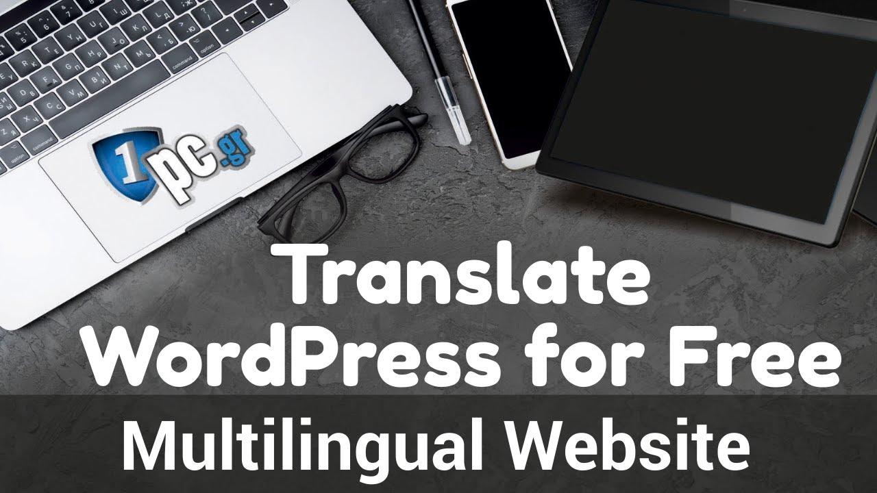 Free Multilingual WordPress! 2021 Step by step Polylang Tutorial