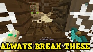 Minecraft Xbox - Why You Should Always BREAK YOUR MANSION WALLS
