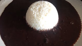 How to make Haitian black beans (sos pwa nwa)