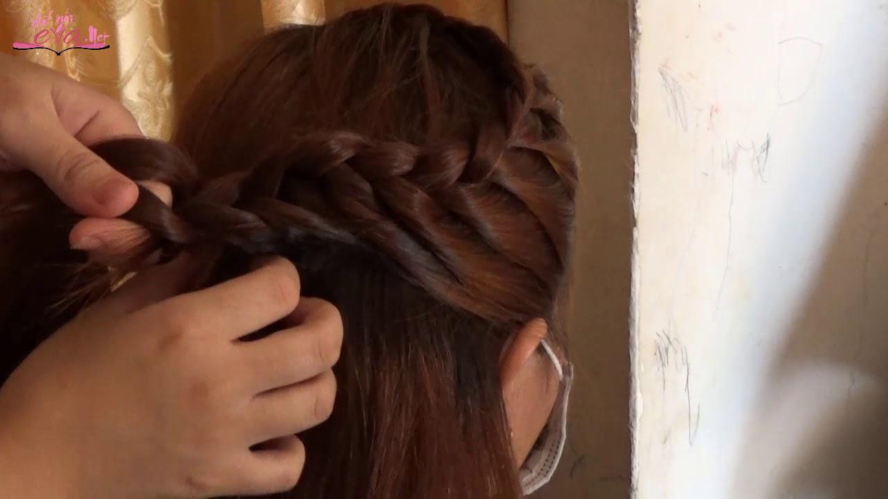Hướng Cách Tết Tóc Mái Dài Đơn Giản – Học Tết Tóc Dành Cho Người Mới Bắt Đầu