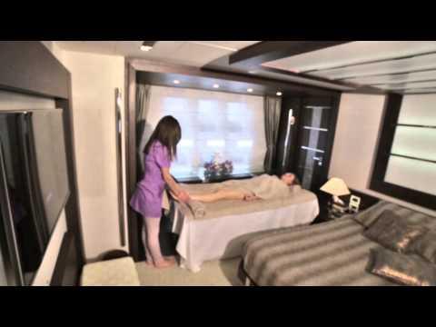 Azalea Spa Luxury Services on Board!