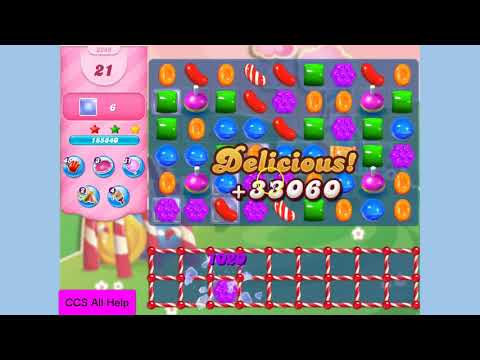 Candy Crush Saga Level 3249 NO BOOSTERS Cookie