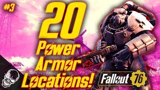 ALL Power Armor Locations In Fallout 76 Part 3 (X-01 POWER ARMOR)