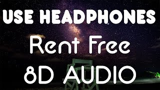 Russ - Rent Free (8D AUDIO)