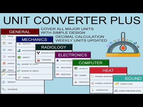 Unit Converter Plus Is A Free Android Lication With Simple User Interface Anyone Can Use It Easily We Cover Lots Of Units In This Categories