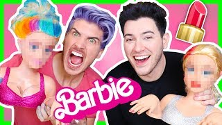 barbie makeover challenge wmanny mua