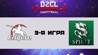 Empire vs Spirit #3 | D2CL S7 Christmas Magic, Ability Draft, 09.12.2015