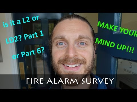 FIRE ALARM SURVEY ON A BLOCK OF FLATS
