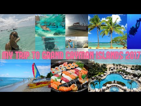 MY TRIP TO GRAND CAYMAN ISLANDS 2017 (4K) | RITZ CARLTON