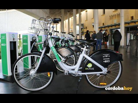 La estación de autobuses cuenta con 10 nuevas bicis de préstamo gratuito