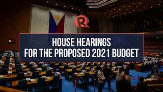 House budget hearing for Comelec for 2021 fiscal year