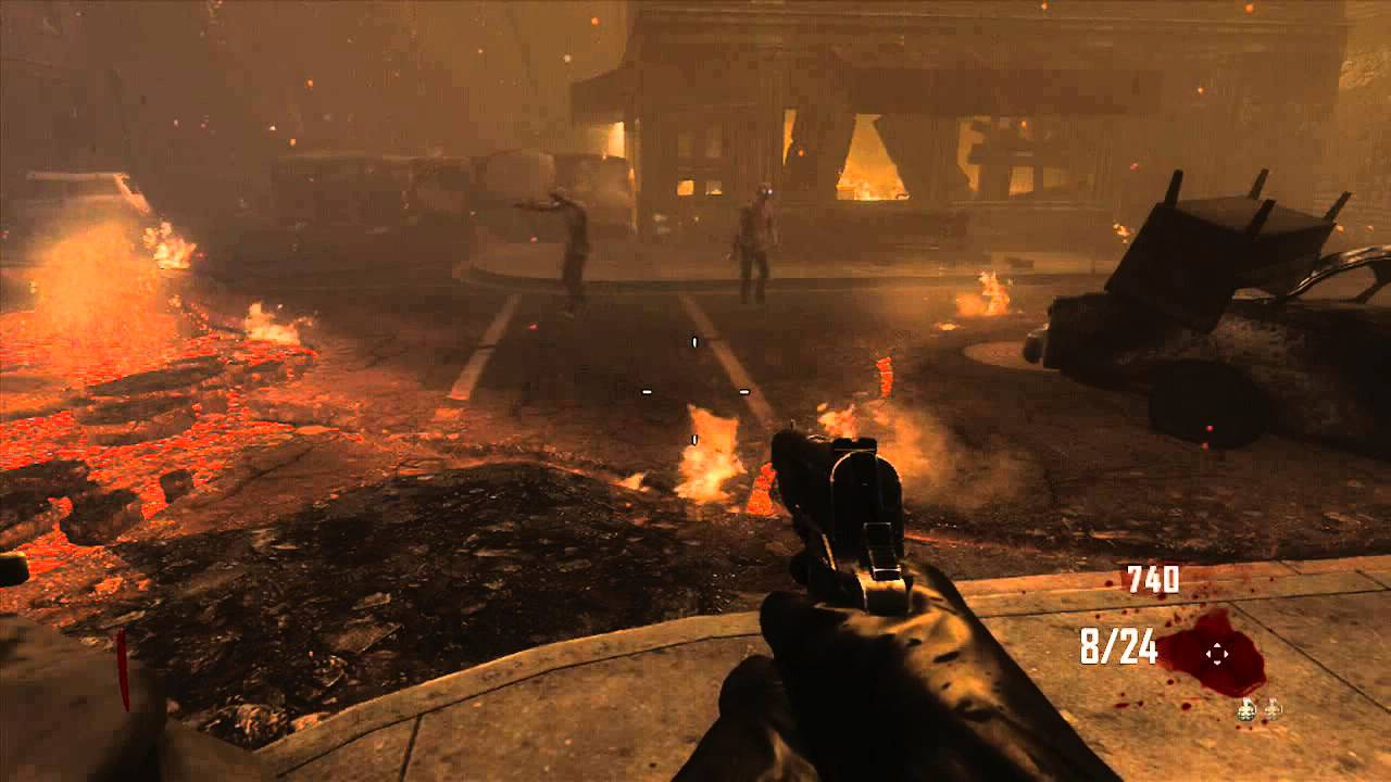 Call Of Duty Black Ops 2 Zombies Town Invincibility Glitch Works