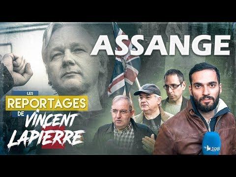 LIBÉREZ ASSANGE ! – Les Reportages de Vincent Lapierre