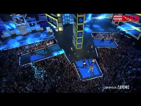 Ariana Grande   Problem live at MMVAs 2014 HD + Backstage