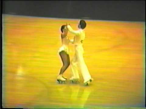 1983 Southwest Regional Roller Skating Championships - Junior Dance Elimination.mpg