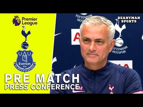 Jose Mourinho - Tottenham V Everton - Pre-Match Press Conference