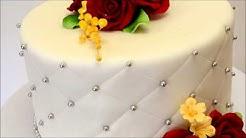 Single Tier Wedding Cake - Small Wedding Cake Ideas