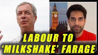 Labour Party To 'Milkshake' Nigel Farage AGAIN