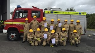 Young Fire Fighters (YFF) Llantwit Major, Vale Of Glamorgan. Graduation July 2015