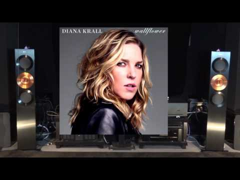 Arcam P49 Diana Krall The Wall Flower Live Recording Amplifier Review + Kef
