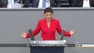 Ein Deutschland ohne Niedriglöhne und Altersarmut 05.09.2017 Sahra Wagenknecht - Bananenrepublik