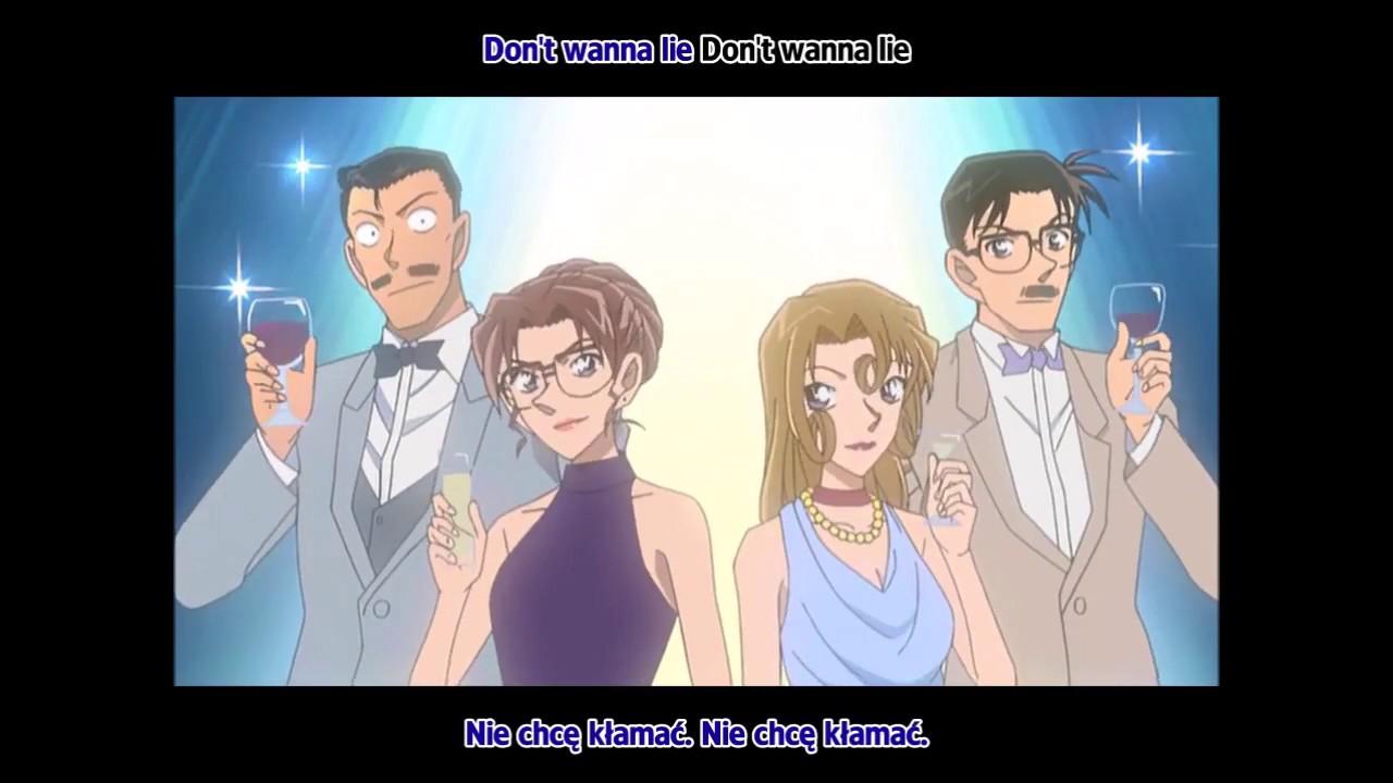 Detective conan op 31 dont wanna lie by bz anime 15sec