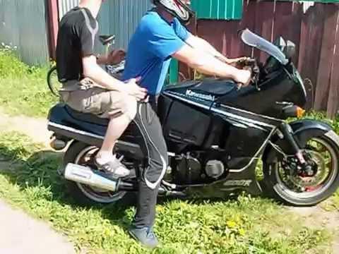 Kawasaki gpx 600r ninja 1989 - YouTube